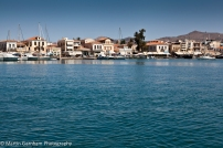 Harbour of Aegina Town.