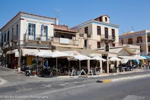 Aegina Town waterfront