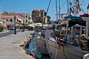 Harbour of Aegina Town.