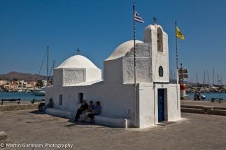 Agios Nikolaos waterfront church