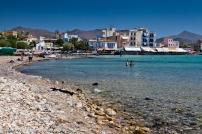 The beach of Aegina Town
