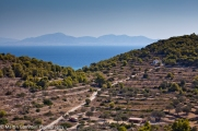 Vagia hillside and coast