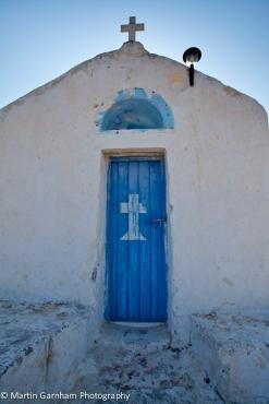 A hillside chapel in Vagia