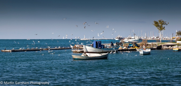 Thessaloniki Fishing boats