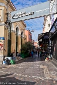 Athens Flea Market in Athens, greece.