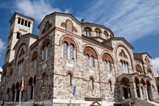 Church Holy Trinity in Pireaus in athens, Greece.