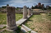 Kerameikos Cemetery and Musuem in Athens, Greece.