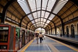 Pireaus Metro Station in Pireaus, Greece.