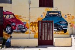 Athens street Graffiti in Athens, Greece.