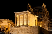 Temple of Athena Nike in the Acropolis in Athens, Greece.