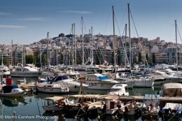 Zea Marina in Pireaus in Greece